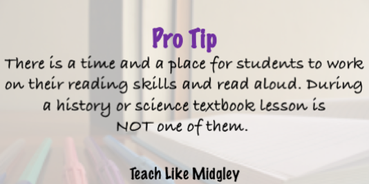 How to effectively teach with textbooks in the classroom | Teach Like Midgley