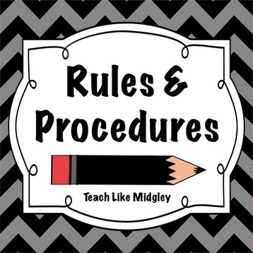 Rules and procedures