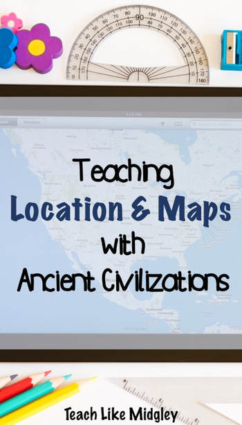 Teaching location and maps