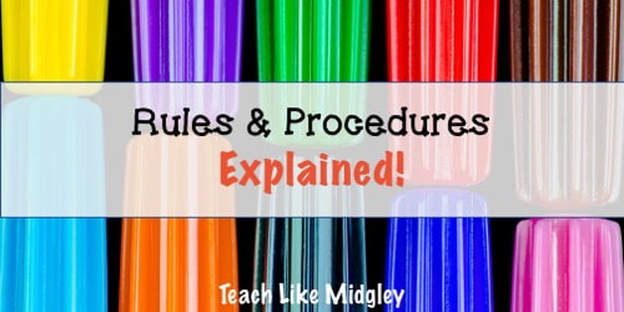 rules and procedures explained for students