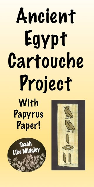 ancient Egypt cartouche papyrus project