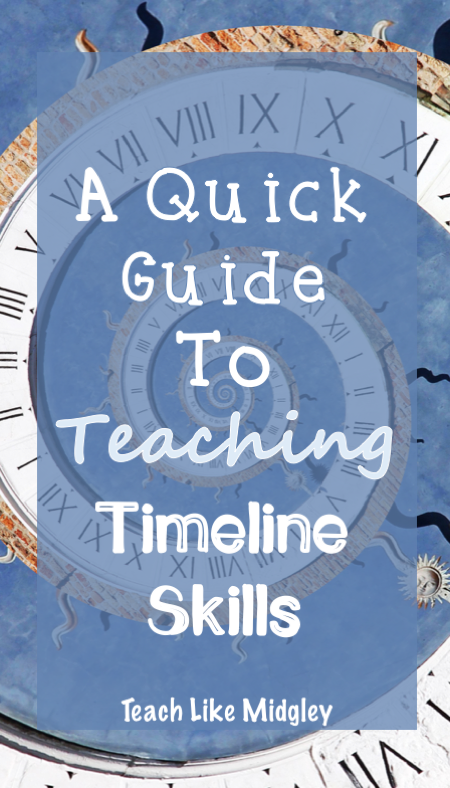 A Quick Guide to Teaching Timeline Skills | Teach Like Midgley