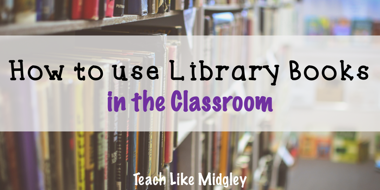 Forget the classroom library. Here's what I use instead. An easy way to provide a rotating selection of books for your students for each unit of study | Teach Like Midgley